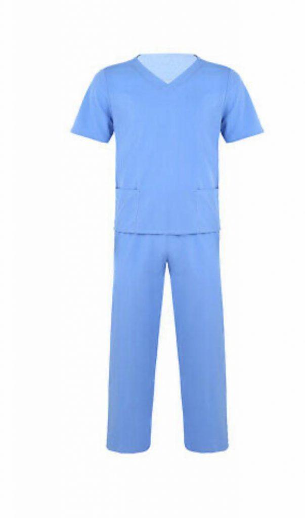 nurses-gown-light-blue